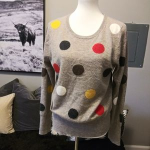 Cynthia Rowley 2 ply Cashmere sweater